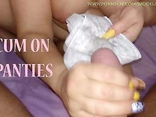 Cum On Dirty Panties My Stepmom