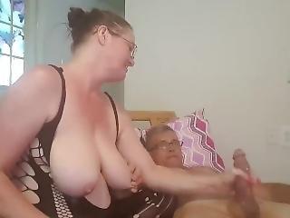 Smoking, Rubbing, & Sucking Cock