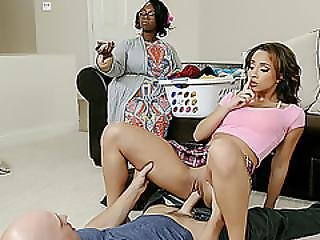 Slutty Teen Teanna Trump Fucked Besides Her Clueless Mom