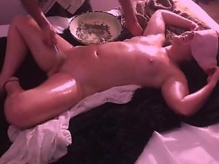 Egyptian Erotic Balm Massage - Part 5 - Orgasm Denial W/ Balm Brush Edging