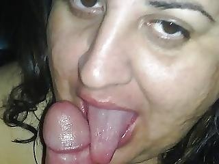 Ugly slut blowjob