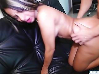 Catalina Diaz Pounding A Colombian Milf
