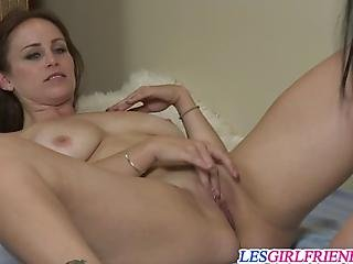 Banging Lesbians Mistress Kara And Bella Rossi