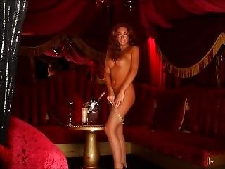 Amazing Redhead Striptease (who Is She ?)