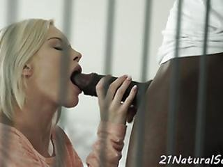 Alluring Babe Doggystyle Drilled By Bbc