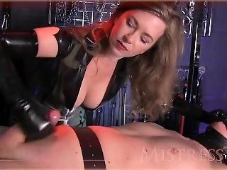 Mistress T - Hand Over Mouth Fuck Toy