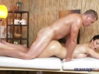 Massage Rooms Big boobs Milf gets fucked