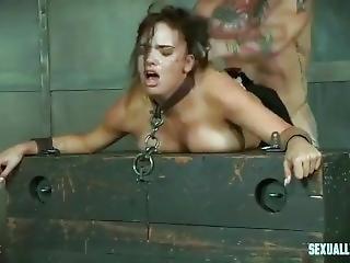 slet, bondage, compilatie, hardcore, likken, ruw, sex