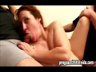 Expecting Slut Screw A Couple Of