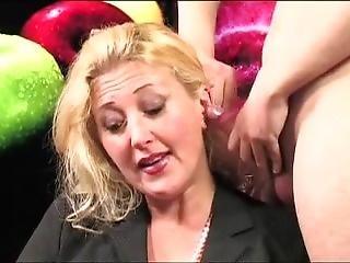 Italian Television (blonde Facials)