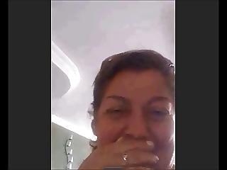 Ecuadorian Granny Surprised With My Cock