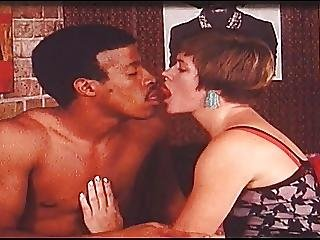 69, preta, interracial, vintage, branca