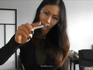 Asian Goddess Siren Thorn - You Deserve My Ash Humiliation & Domination
