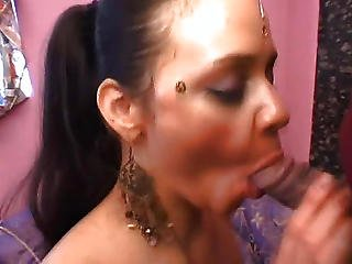 The Cutie From Engulfing His Shlong Ejaculation On Chest