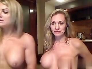 любитель, блондинка, мошенничество, чертов, страпон, игрушки, Веб-камера