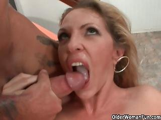 Hot Milf Roxanne Hall Makes Cuckold Hubby Watch Her Having Sex With A Stranger