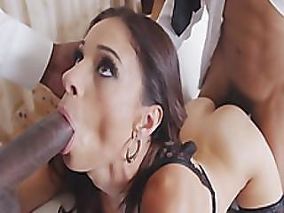 Sexy Mom Eva Long Sucks Black Dicks And Gets Boned In Threesome