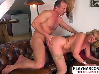 Cutie Mom Amy Riding Cock Hard Teen Step Son