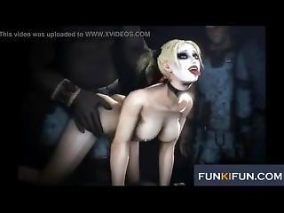 Harley Quinn Black Cum Sfm Compilation (batgirl, Catwoman, Poison Ivy, More