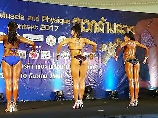 Hot Thai Girl Fitness Contest