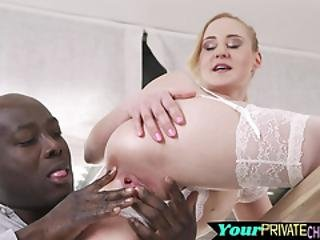 Lingerie Babe Fingered And Drilled By Bbc