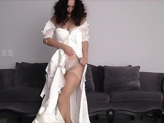 Ripping Wedding Dress To Shreds