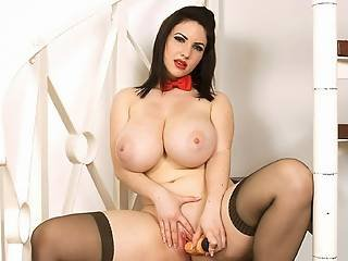 Room Service Cums With Large Bra Buddies