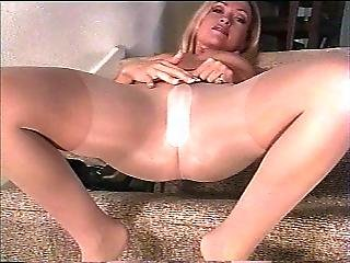 Tease In Pantyhose
