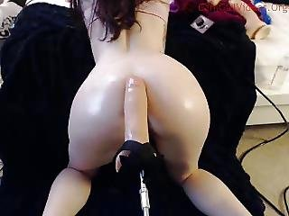 Anal, Fucking, Machine Fucking, Webcam