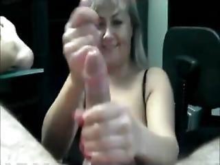 Hot Amateur Milf Cockstroking