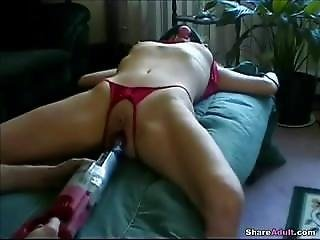 Bound With Sex Toy