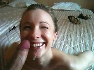 Face Cumshot. Angelina From Dates25.com