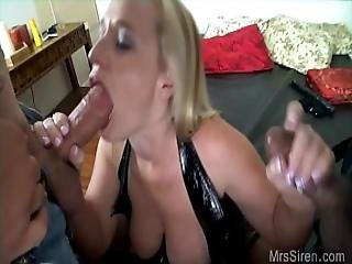 Wife Playing With Strokers