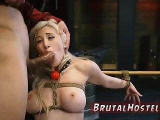Swedish Rough First Time Big-breasted Blond Cutie Cristi Ann Is On