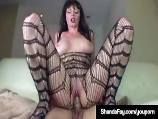 Hot Housewife Shanda Fay Banged In Pantyhose Enjoying Sex