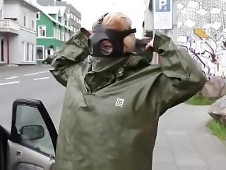 Rainwear And Gasmask