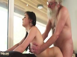 Old And Young Porn Teen Girlfriend Sucks Grandpa Cock Makes Him Cum Hard