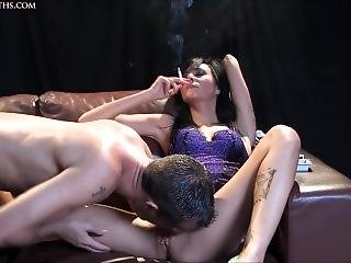 Smoking And Cunnilingus 1
