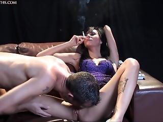 Smoking And Cunnilingus 1