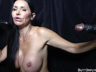 Butt3rflyforu And The Bbc Gloryhole With Slut Mom