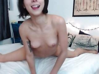 Babe, Masturbation, Small Tits, Webcam