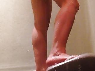 Young Student Shower 22