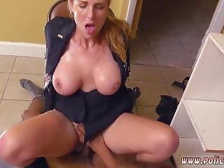 Madison Ivy Police Black Male Squatting In Home Gets Our Milf Officers