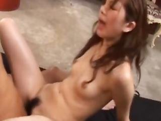 Sexy Asian Doll Asahi Miura Is Stripped And Ravished By Her Horny Guy