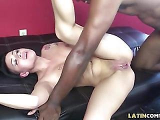 Big Black Cock For Punky Chick