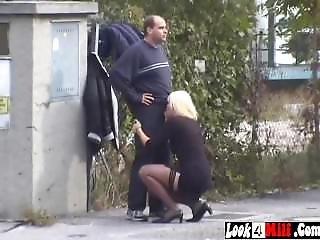 Prostitute Sucking Cock In Public