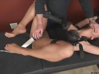 Sasha Foxxx Take Orgasm In Bondage