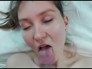 Slutty Teen Takes It From Behind And Sucks Cock