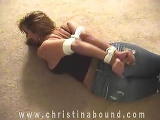 Housewife On Floor