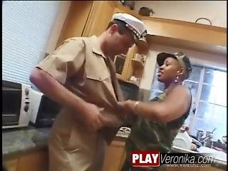 Big Tits In Uniform Interracial Fucking
